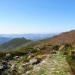 Paysage typique des Cévènnes et du Mont Lozère